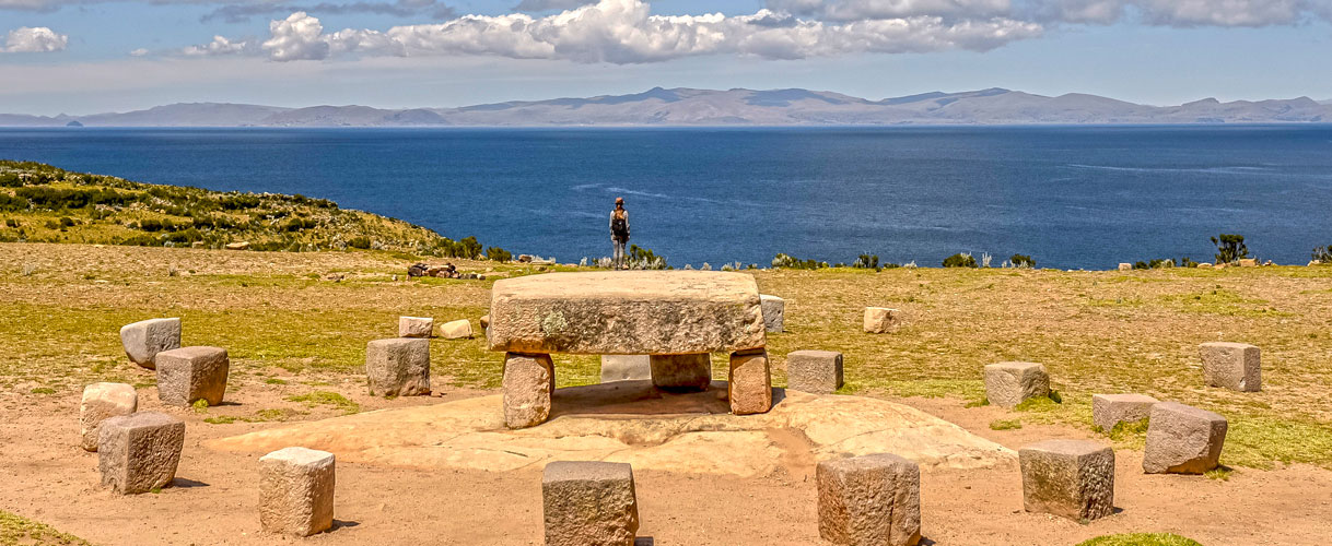Tourism at the Lake Titicaca